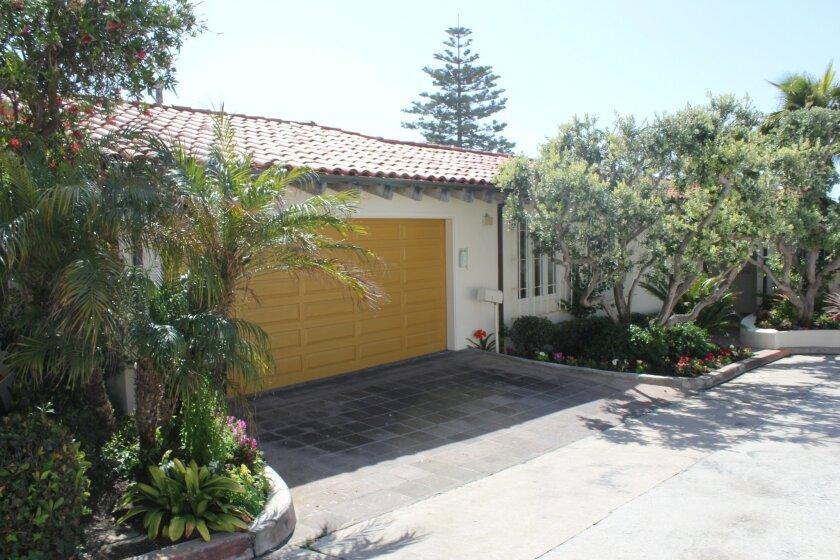 Mitt Romney's home at 311 Dunemere Drive in La Jolla.