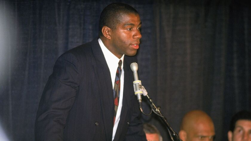 Magic Johnson – Los Angeles Lakers