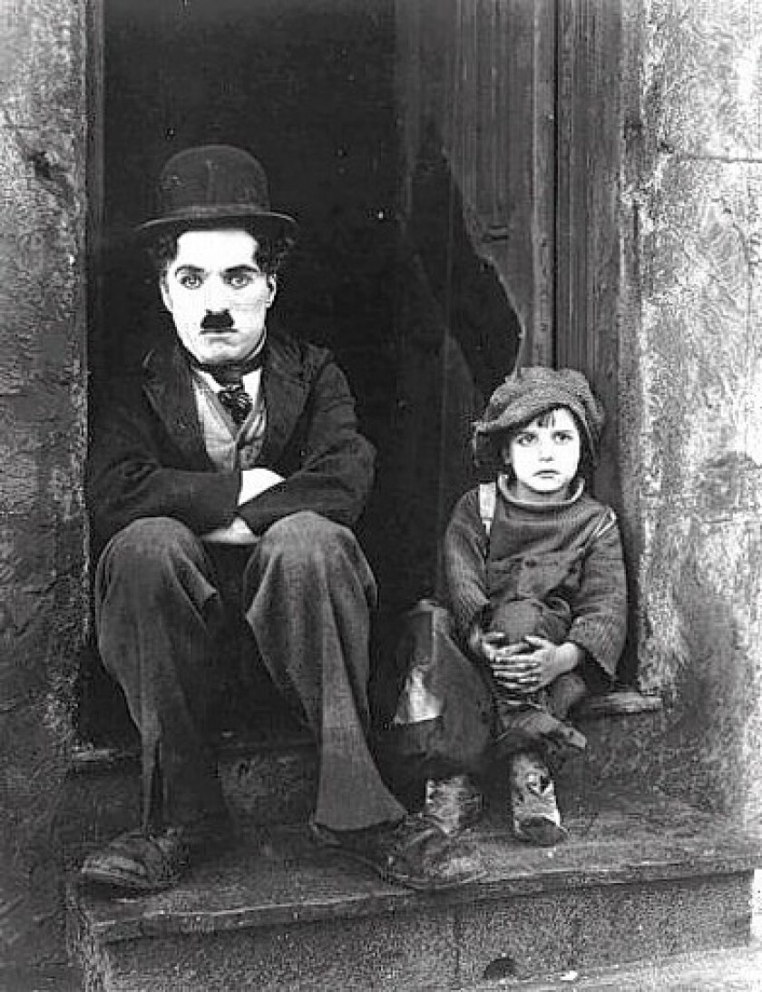 The evolution of Charlie Chaplin's Tramp