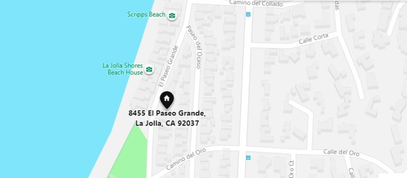 8455 El Paseo Grande in La Jolla