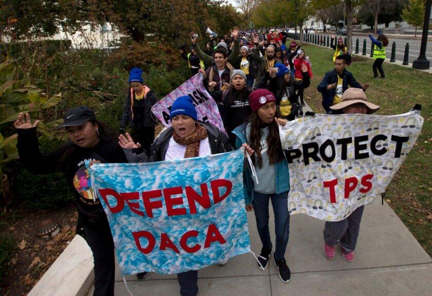 Los beneficiarios de DACA llegaron a Estados Unidos, en promedio, a la edad de siete años y han vivido aquí durante 20.