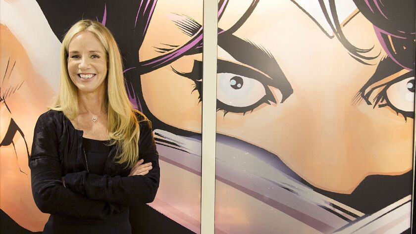 Warner Bros. did not give specific reasons for DC Entertainment President Diane Nelson's leave of absence.