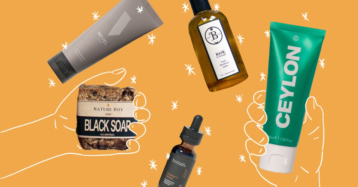Black men are ignored by the skin-care industry. These brands are stepping up