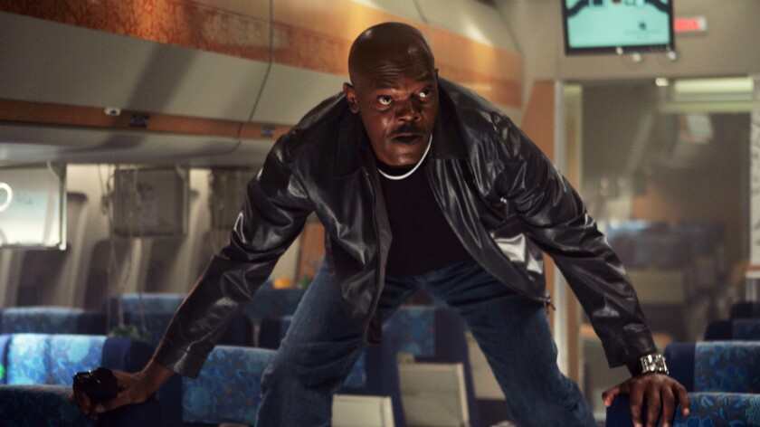 """Samuel L. Jackson in """"Snakes on a Plane."""""""