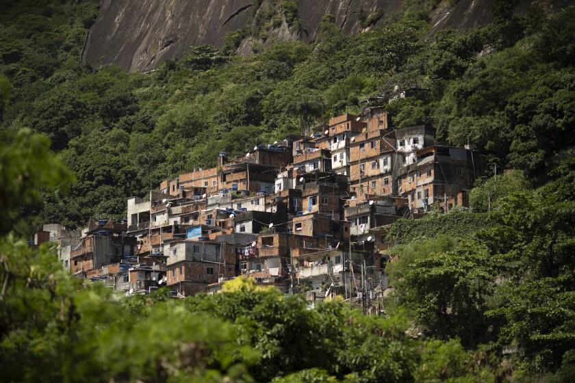 Virus Outbreak Brazil Favela