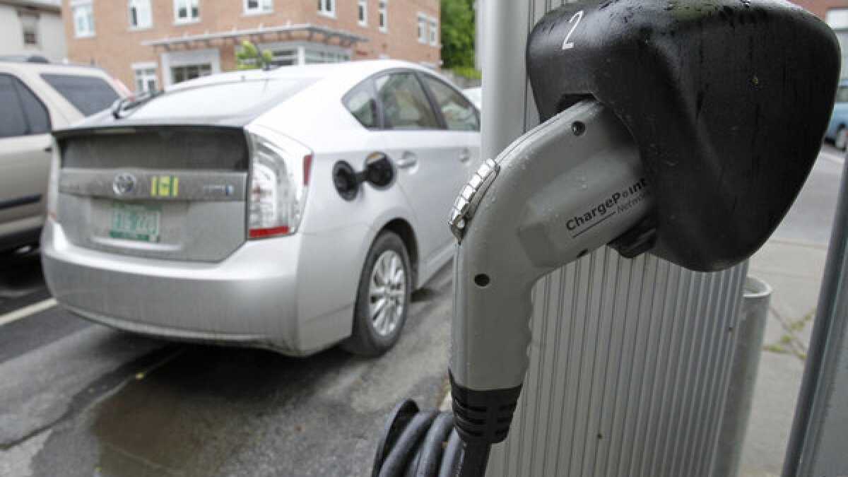 No More Gasoline California S Shift To Clean Cars Is Huge Los Angeles Times
