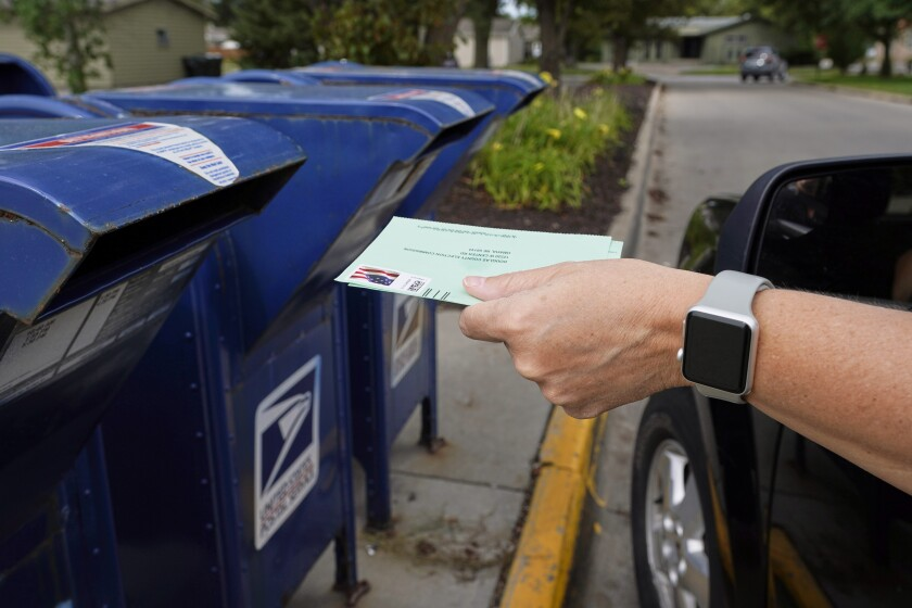 Second Dem Lawsuit Claims Usps Changes Will Harm Mail Voting The San Diego Union Tribune