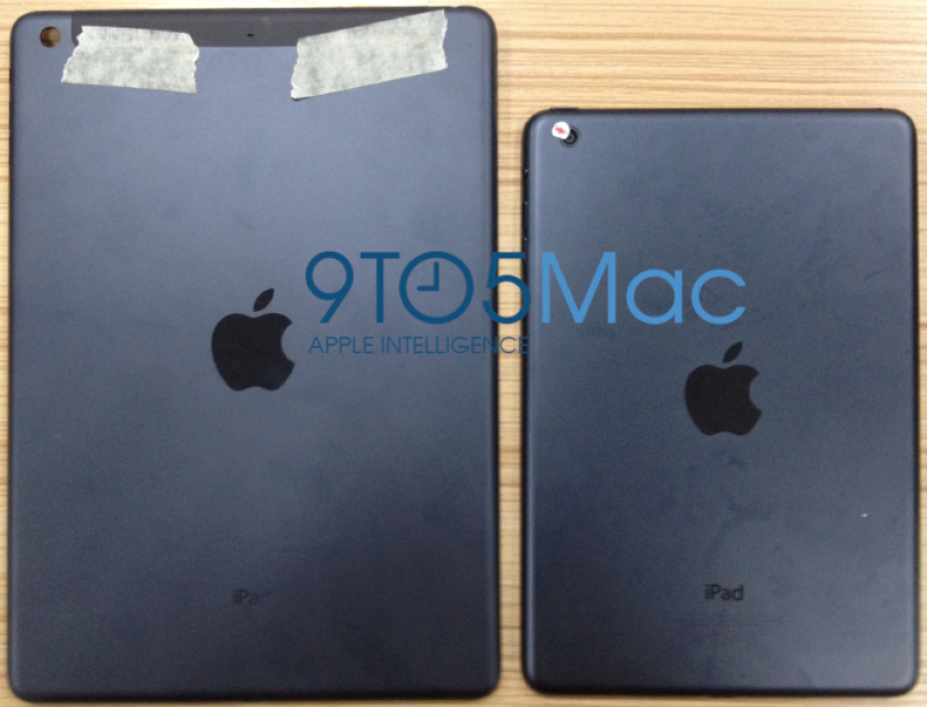 First look at iPad 5? At least the back of it, that is