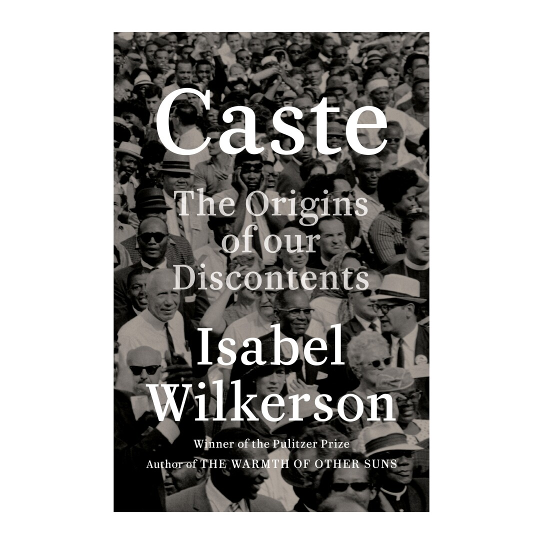 HOLIDAY GIFT GUIDE - Cover of the book Caste by Isabel Wilkerson.