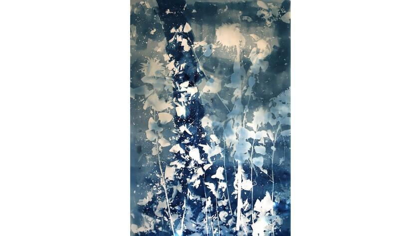 Christine Nguyen's cyanotypes at Baik Art