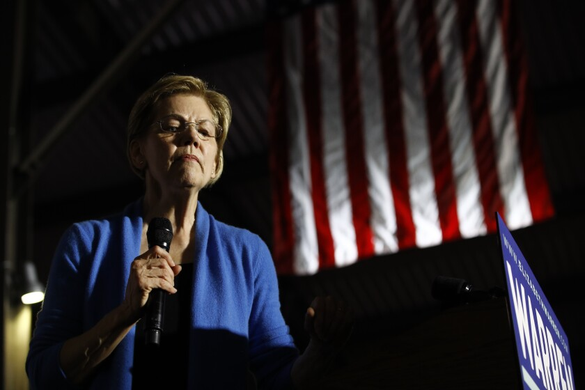 Election 2020 Elizabeth Warren