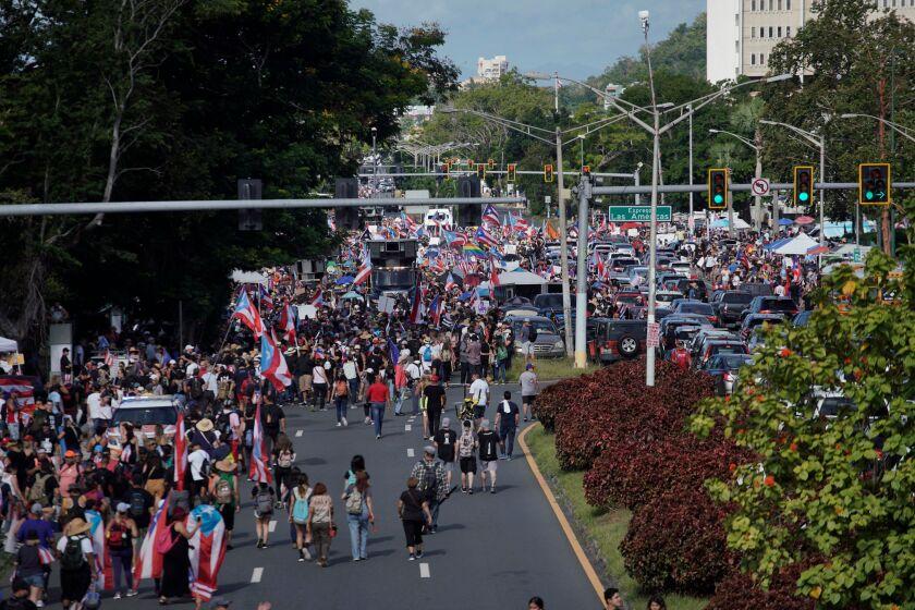 Las Americas Highway in San Juan, Puerto Rico