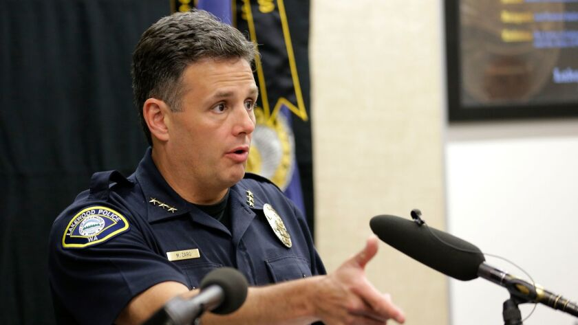 A jury assessed $3 million in punitive damages against Lakewood Police Chief Mike Zaro, finding that his department acted recklessly in the fatal shooting of Leonard Thomas.