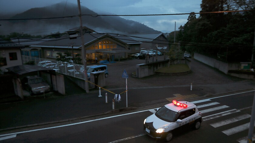 Nineteen disabled people were killed at this nursing facility outside Tokyo.