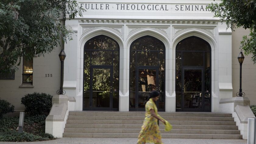 The 70-year-old Fuller Theological Seminary will sell its 13-acre campus in Pasadena and move to Pomona.