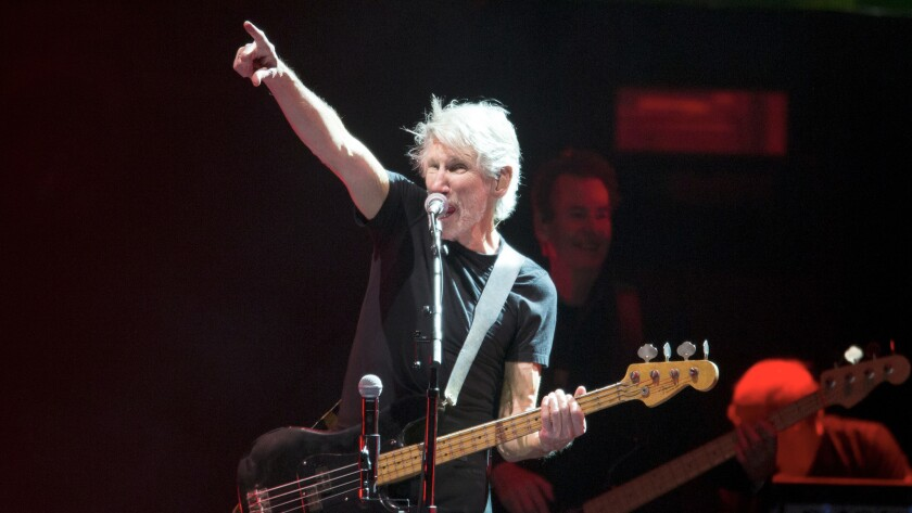 Roger Waters performs at Desert Trip.
