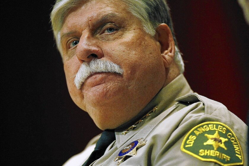 John L. Scott is Los Angeles County's interim sheriff.