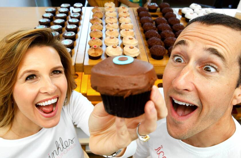 Before founding Sprinkles Cupcakes, Candace and Charles Nelson worked in finance. At least eight more stores are set to open in the United States.