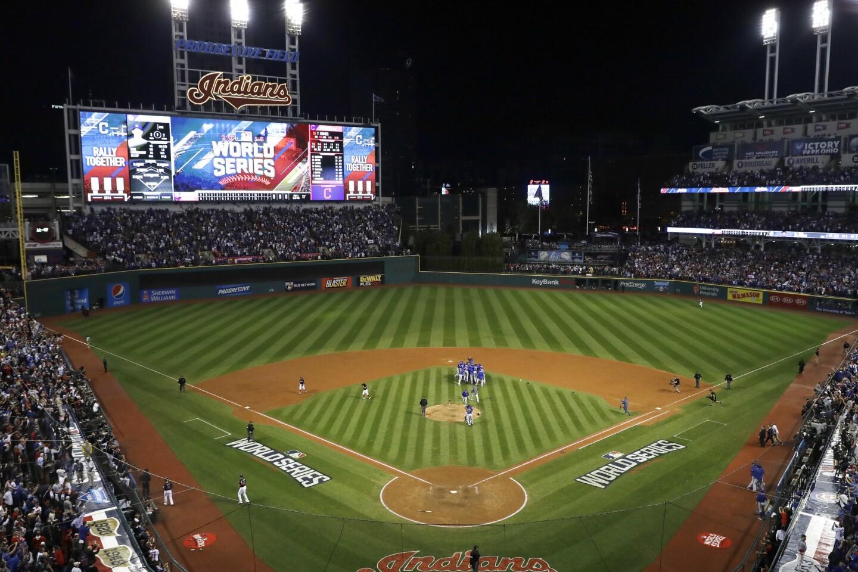 APphoto_World Series Cubs Indians Baseball