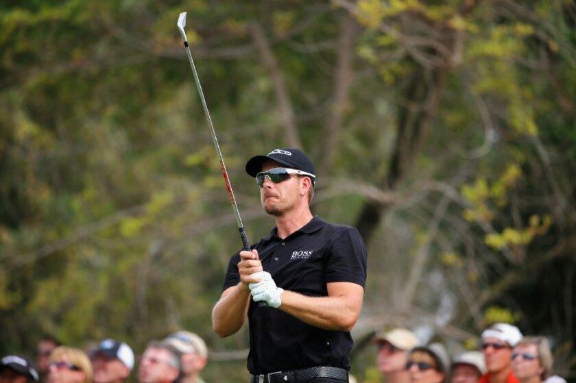 Henrik Stenson finishes historic year, already looking ahead