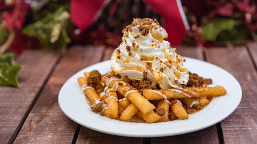 Specialty Foods During Holidays at the Disneyland Resort