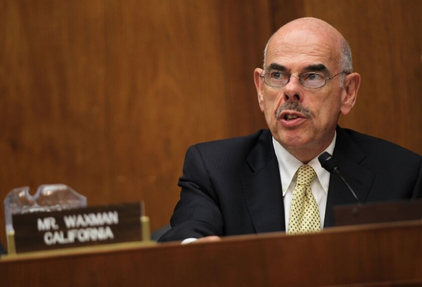Rep. Henry Waxman is retiring after 20 terms in Congress.