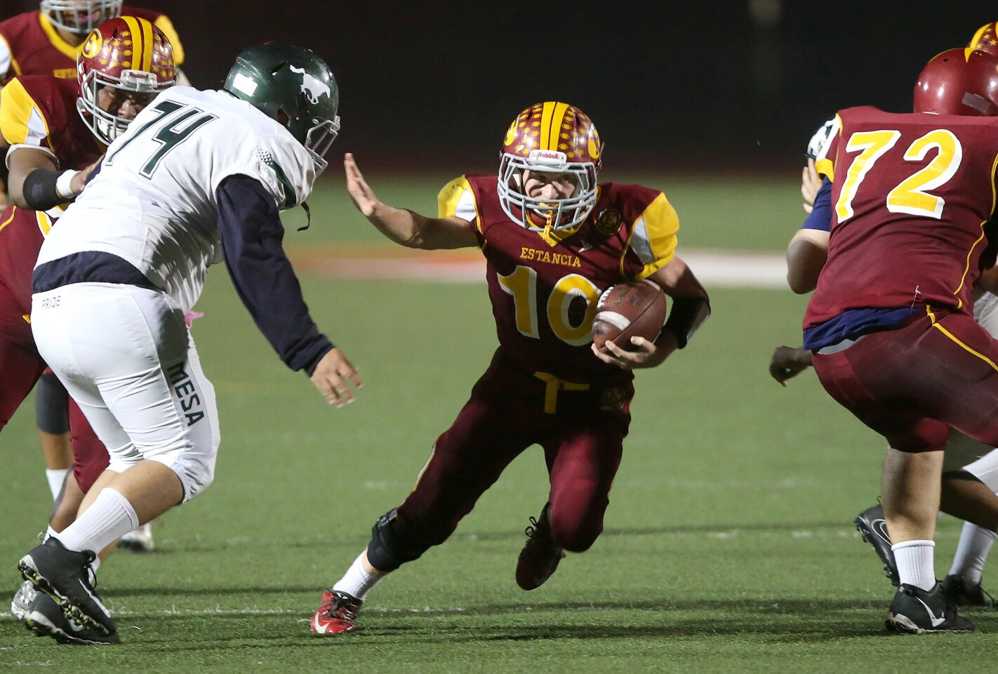Photo Gallery: Estancia vs. Costa Mesa in football