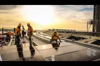 Padres installing baseball's biggest solar project