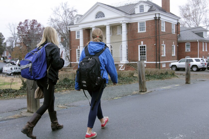 University Of Virginia Fraternity At Center Of Disputed Rolling Stone Magazine Story On Alleged Gang Rape Incident