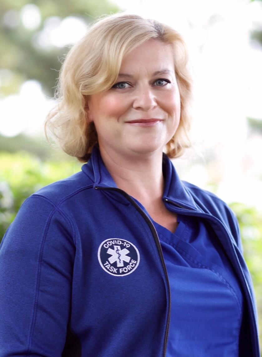 La Jollan Quinn Quackenbush was named one of UC San Diego Health's 2021 Nurses of the Year.