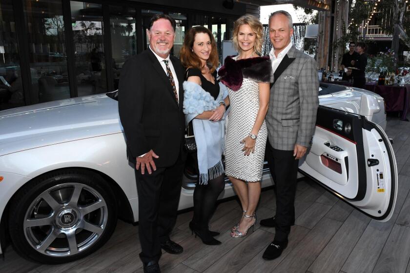 Rolls-Royce party kicks-off Concours weekend
