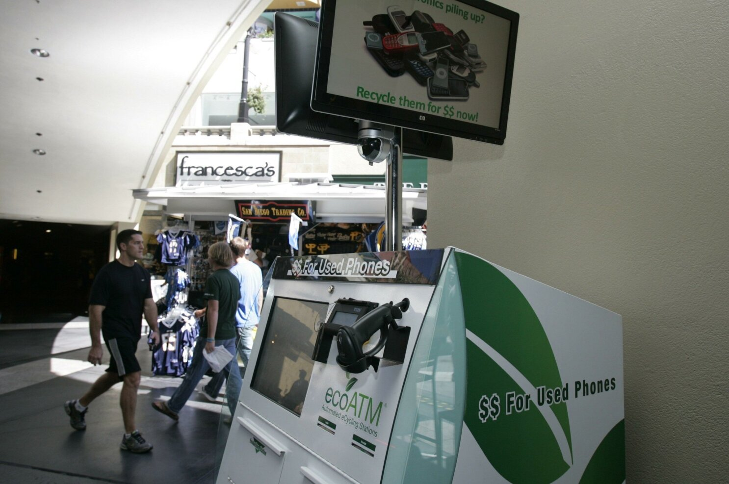 Parent of ecoATM lays off workers in San Diego - The San Diego Union