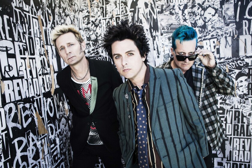 Undated publicity photo of Green Day. Frank Maddocks photo