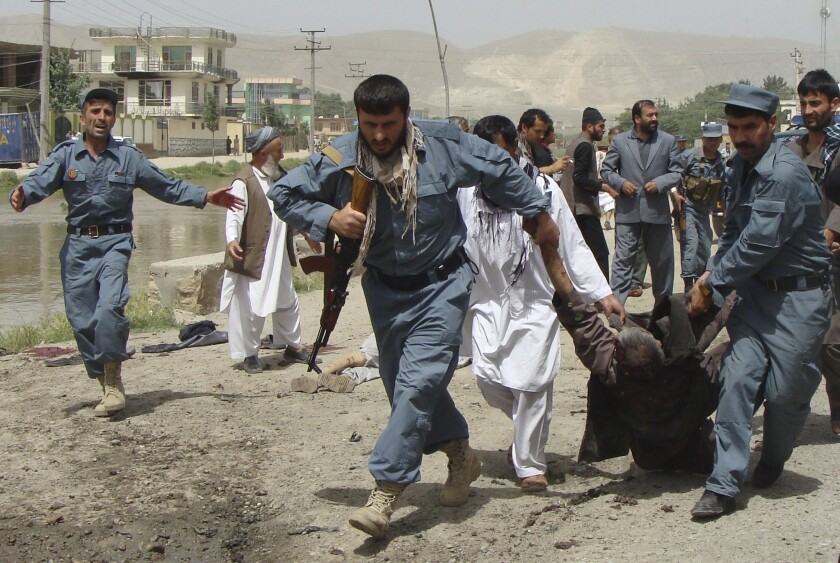 Suicide bomb blast kills Afghan provincial leader, 12 others