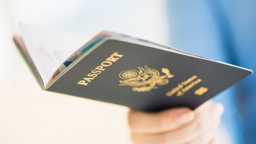 Roughly 40% of the U.S. population has a valid passport, according to the federal government.
