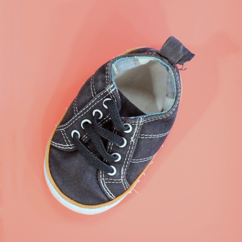 "Tom Kiefer ""Baby Shoe,"" 2018"