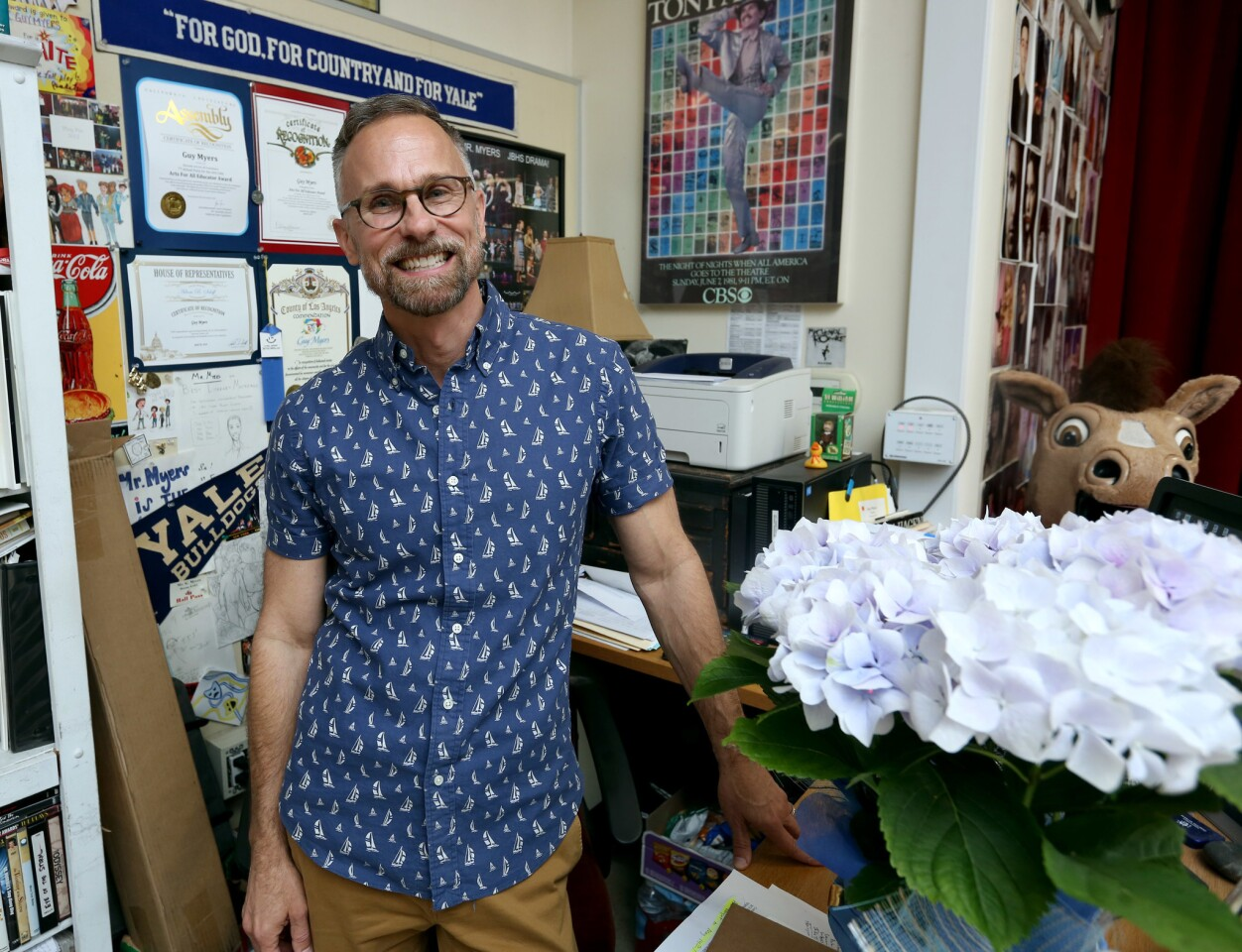 Photo Gallery: Drama teacher Meyers named Teacher of the Year