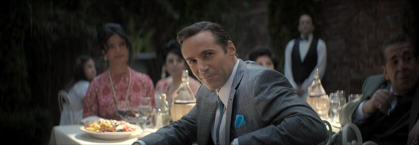 """ALESSANDRO NIVOLA as Dickie Moltisanti in  """"THE MANY SAINTS OF NEWARK."""""""