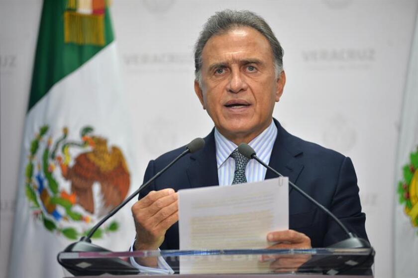 Fotografía de archivo del gobernador de Veracruz, Miguel Ángel Yunes. EFE/Archivo