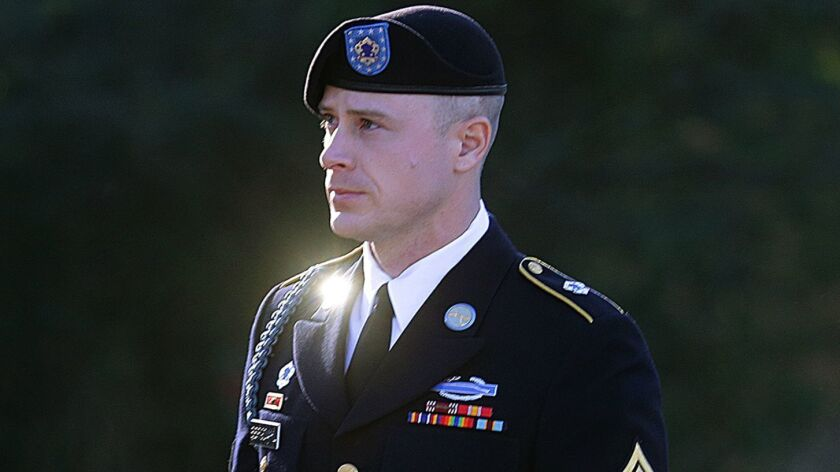 Bowe Bergdahl, a former prisoner of war accused of endangering his U.S. comrades by walking off his post in Afghanistan, is asking President Obama to pardon him.