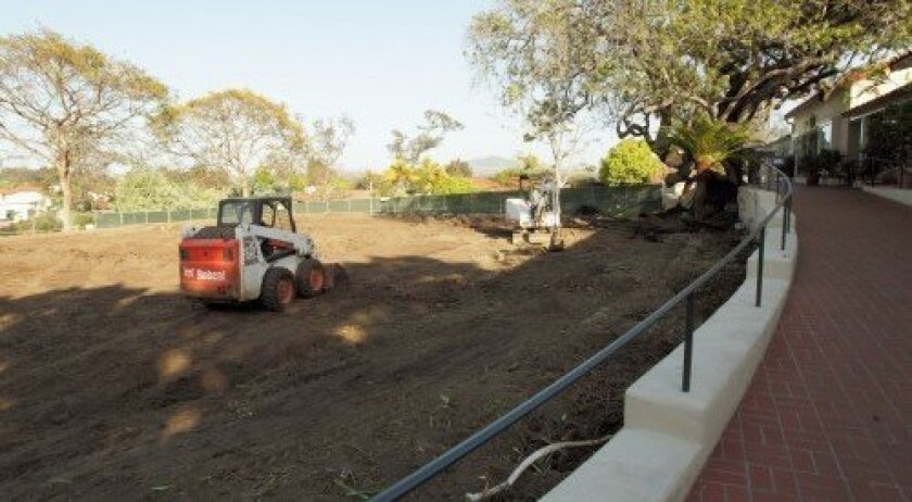 The $12 million renovation project at The Inn at Rancho Santa Fe is expected to be completed by July. Courtesy photo