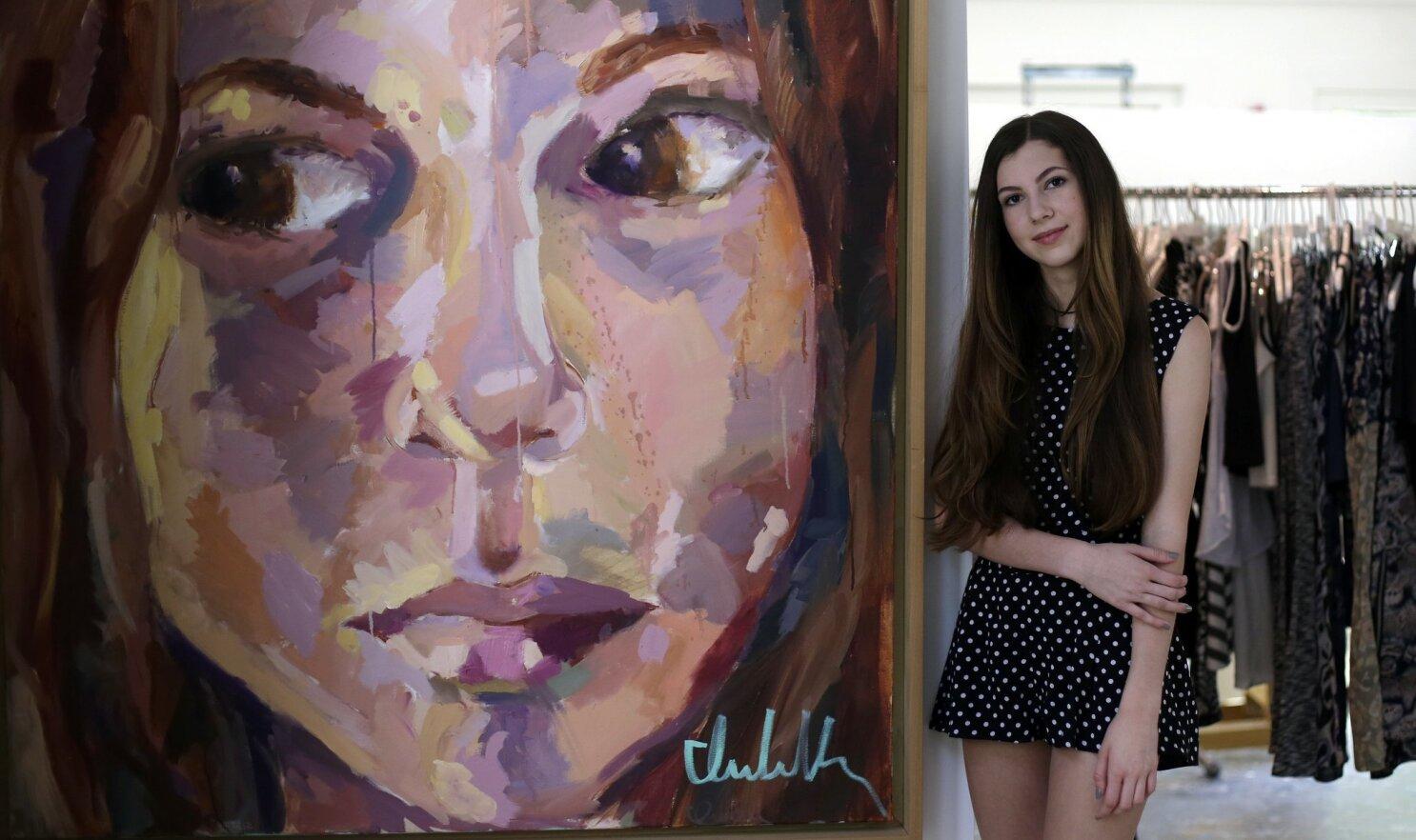 13 Year Old Texas Fashion Designer Finds Success The San Diego Union Tribune