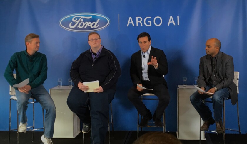 Execs from Ford and Argo AI