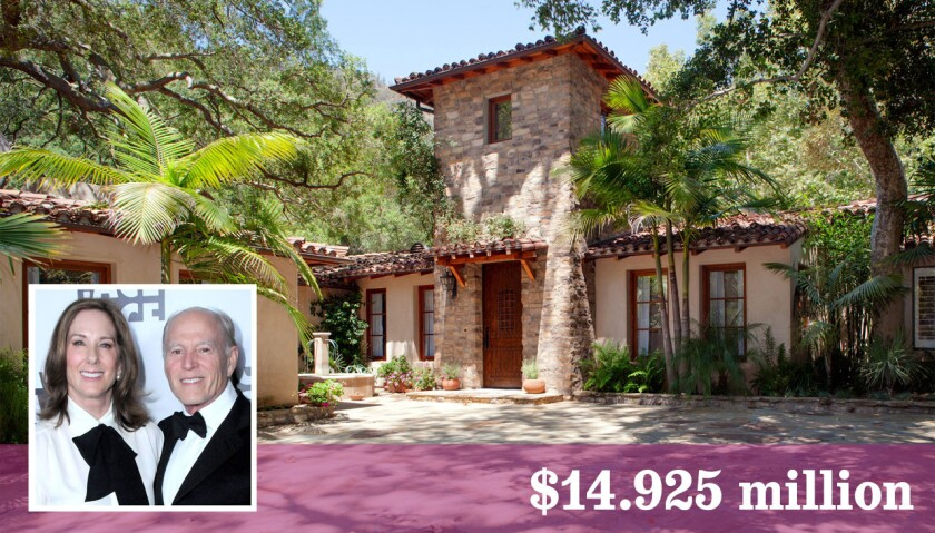 The so-called Bea Arthur estate in Brentwood was purchased by film producers Kathleen Kennedy and Frank Marshall.