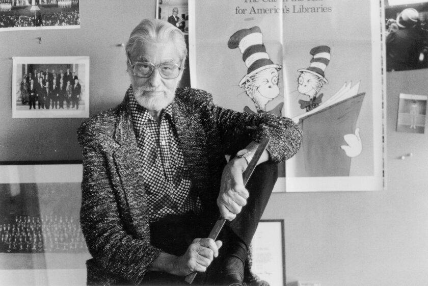 Dr. Seuss in 1987.