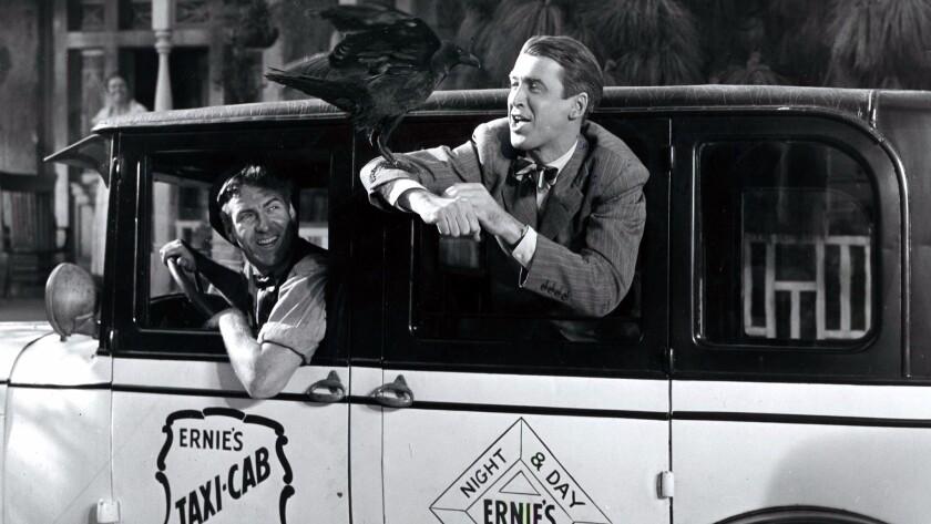 "James Stewart as George Bailey in ""It's a Wonderful Life."""
