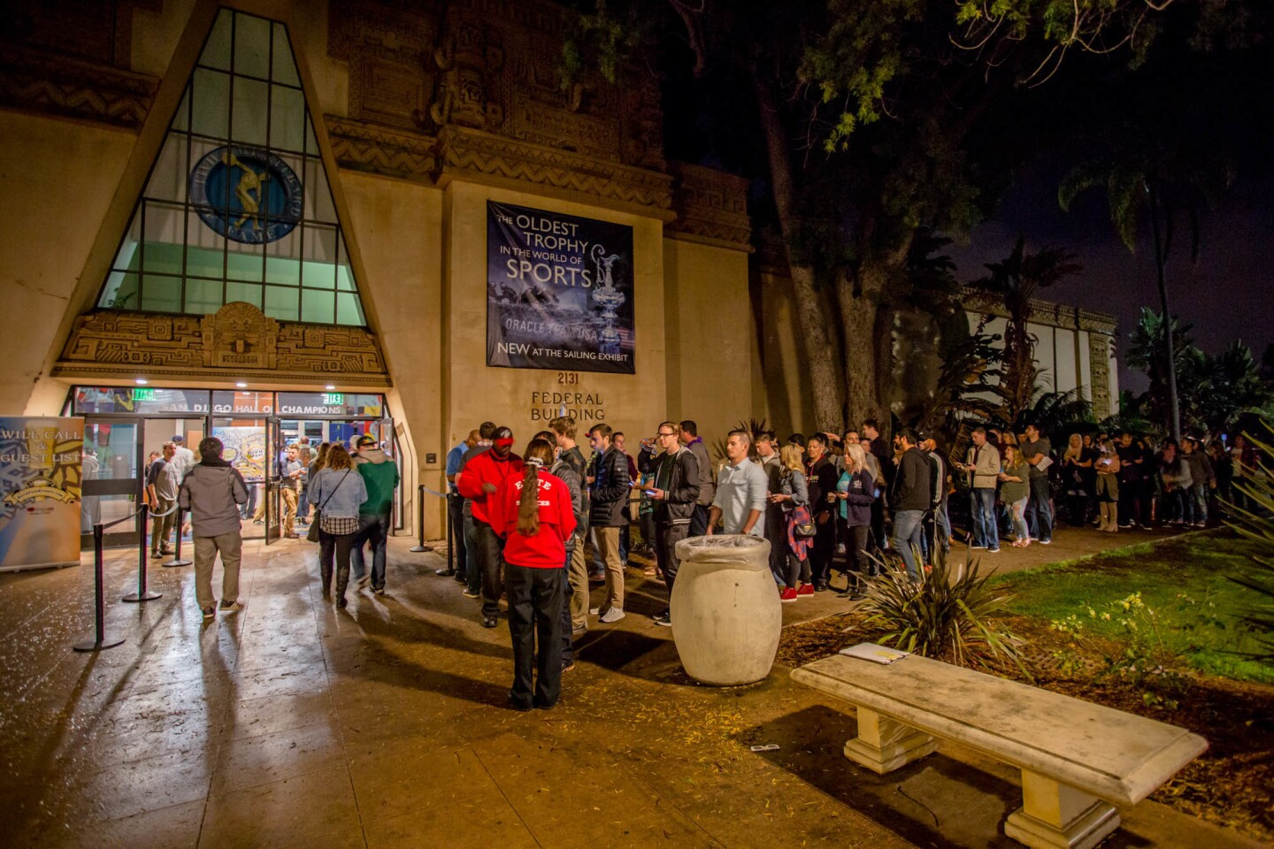 This year's Winter Brew Fest was held inside at the Hall of Champions at Balboa Park on Saturday, Feb. 18, 2017. (Bradley Schweit)
