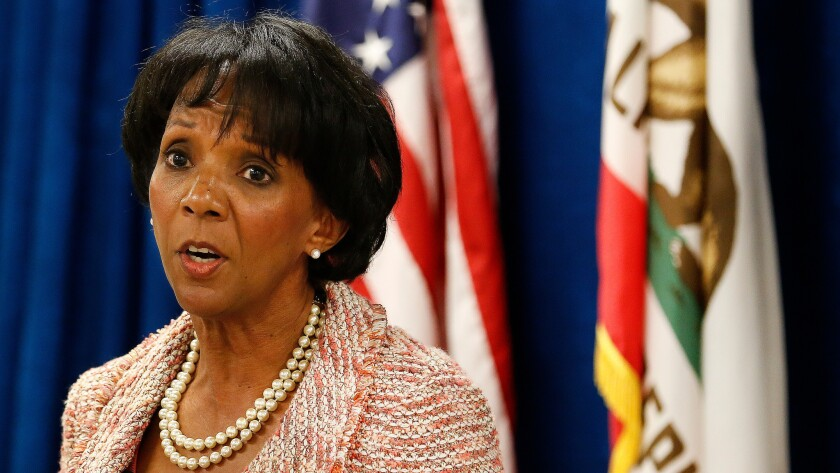 Los Angeles County D A 's office sees a big drop in the