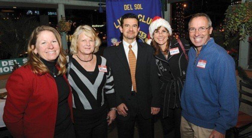 Vice President Linette Page, Toni Tschann, President Bulent Erol, Secretary Robin Kemp and Treasurer John Page (Photo: Jon Clark)