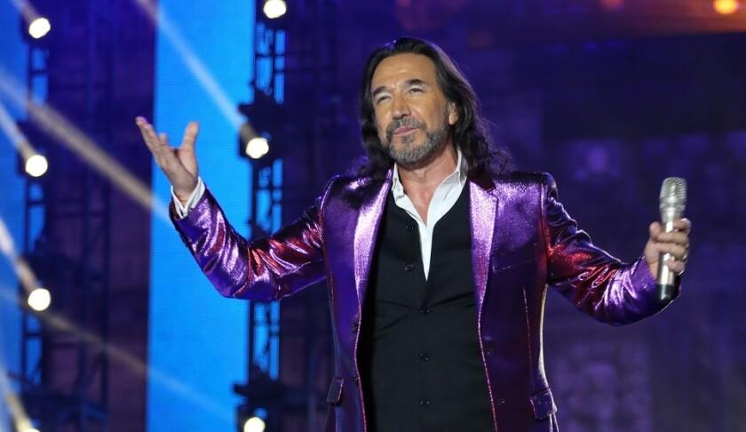 Una imagen de archivo del legendario cantante y compositor mexicano.